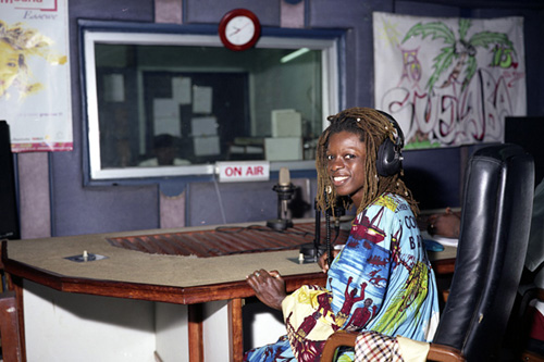 Aretha Louise Mbango, Radio DJ and head of sports, culture and society services, CRTV, Douala, Cameroon