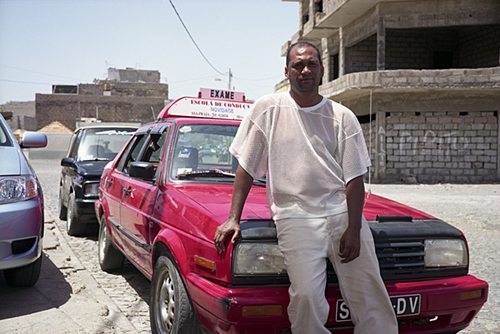 John, driving instructor, Praia, Cape Verde